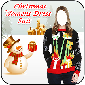 Download Christmas Women Dress Suit For PC Windows and Mac