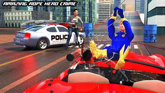 Rope Hero Crime Simulator – Miami Crime City Games