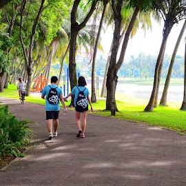 Kallang Riverside Park  by Abdul Salim - City,  Street & Park  City Parks