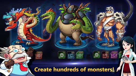 Monster Builder: Craft, Defend- screenshot thumbnail