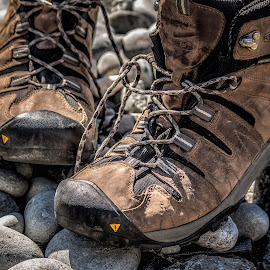 hiking boots by Vibeke Friis - Artistic Objects Clothing & Accessories ( footwear, boots )