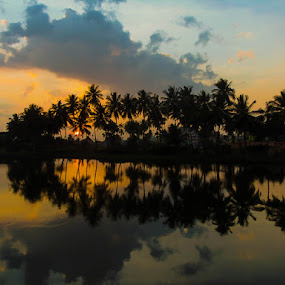 Dusk by Sandeep Das - Novices Only Landscapes