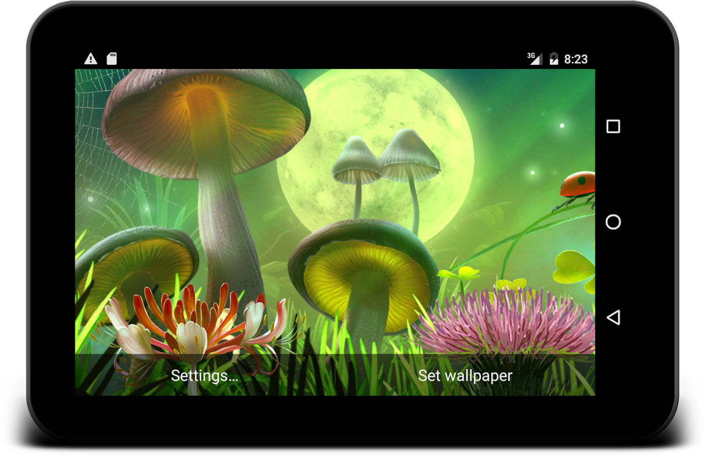 Nature live wallpaper Screenshot 10
