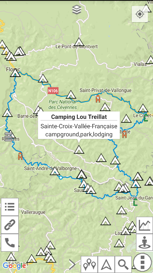 myRouteMap Screenshot 4