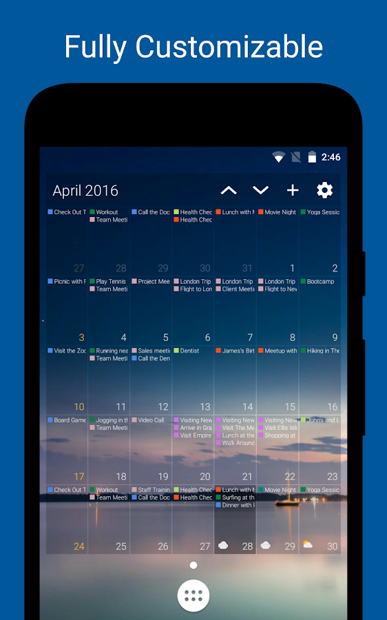 DigiCal Calendar Agenda Screenshot 5
