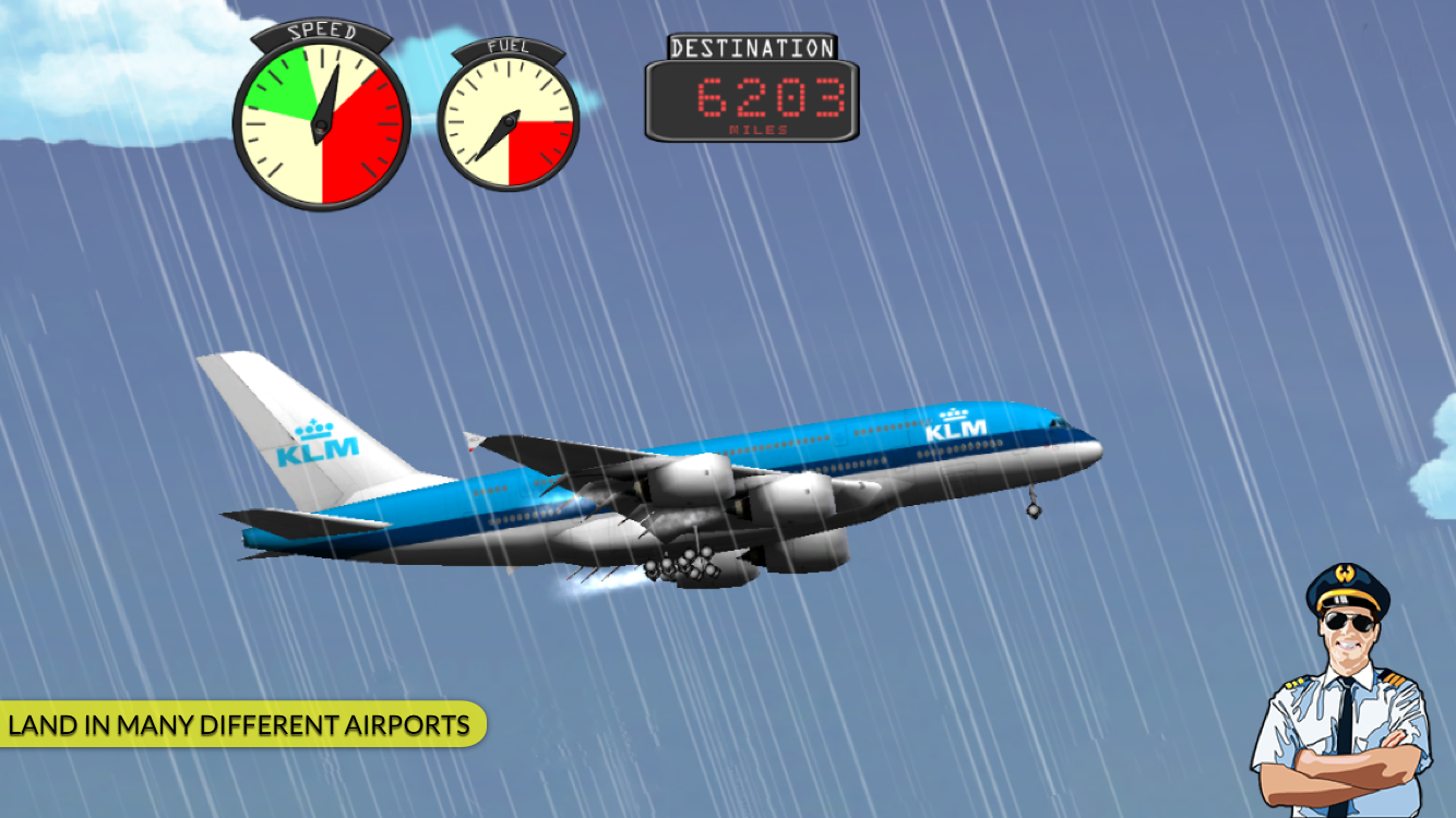 Transporter Flight Simulator ✈ Screenshot 1