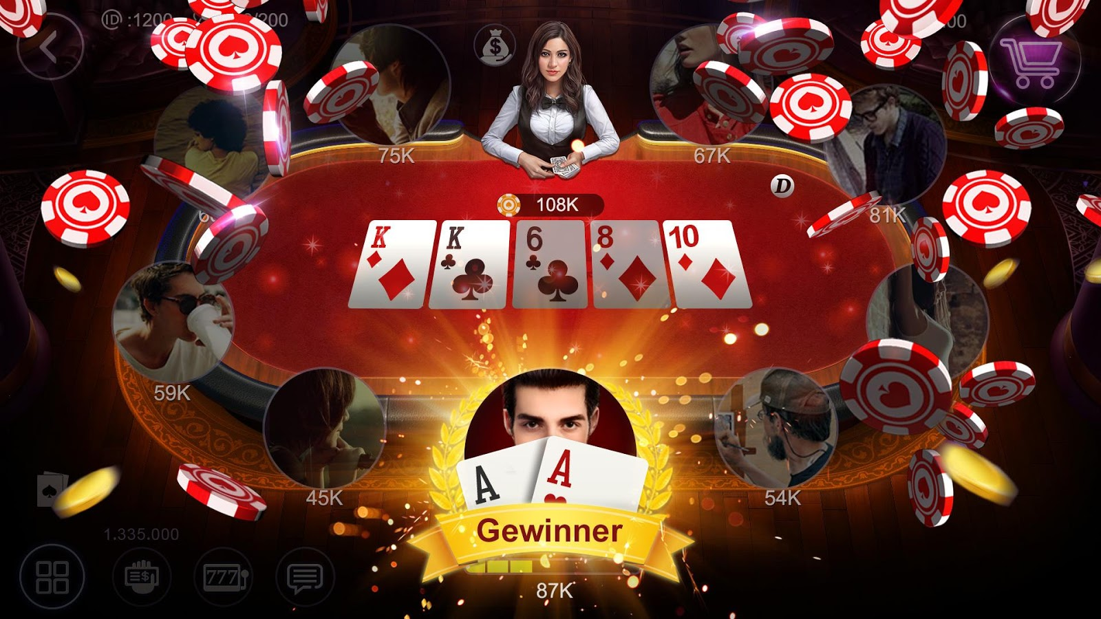 Poker Deutschland Screenshot