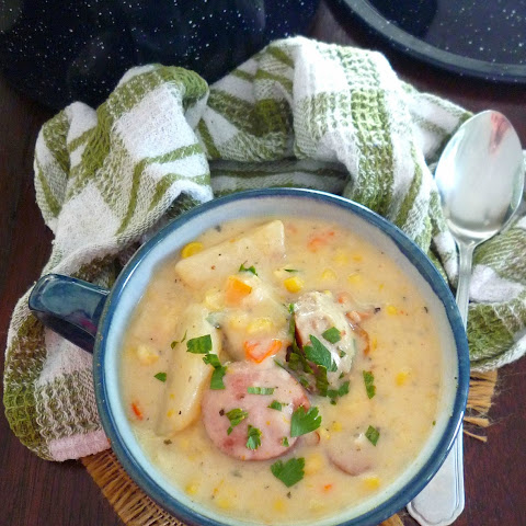 Southern-Style Corn and Potato Soup