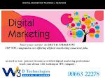 Digital Marketing Training-Carrier Oriented Program