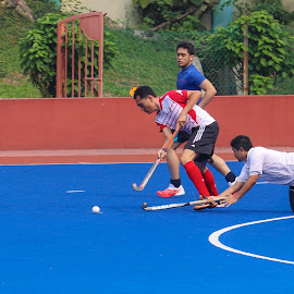 My Hockey Low Tackle by Syahrul Nizam Abdullah - Sports & Fitness Other Sports