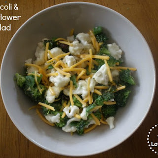 Broccoli & Cauliflower Salad 0