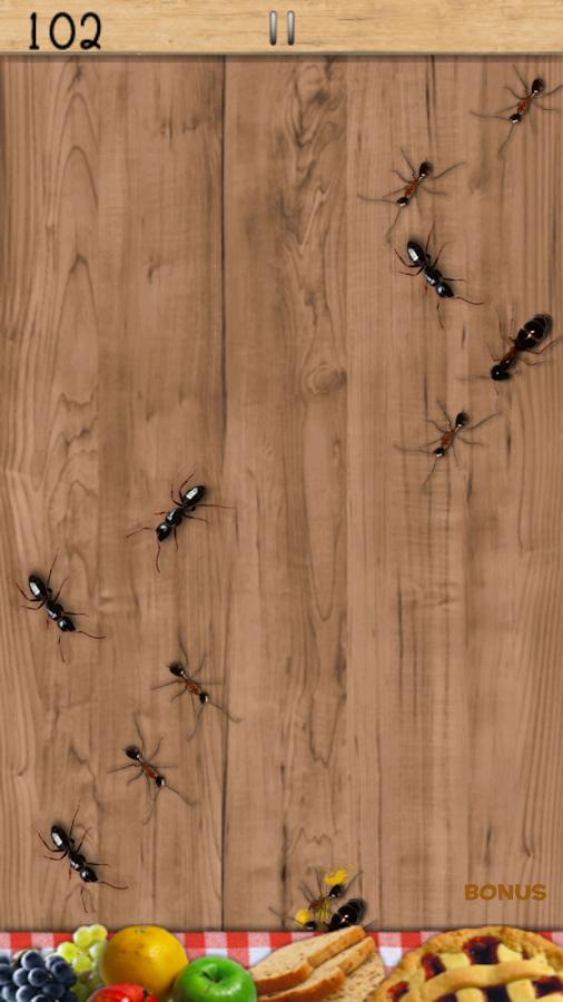 Ameisen-Quetscher Kostenlos – Screenshot