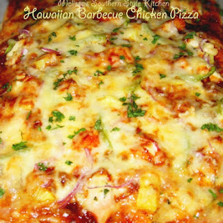 Hawaiian Barbecue Chicken Pizza