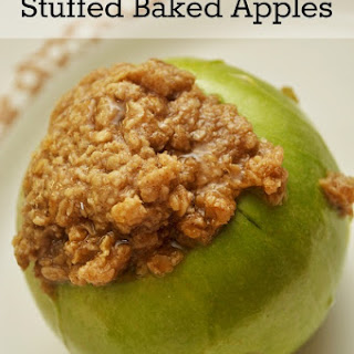 Stuffed Baked Cinnamon Apples