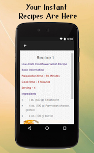 Low Carb Diet Recipes Guide - screenshot