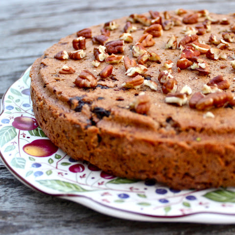 Apple, Pear and Raisin Cake