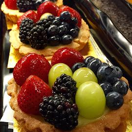 Petite Fruit Tarts by Lope Piamonte Jr - Food & Drink Cooking & Baking