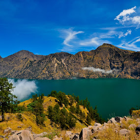 Segara Anak Lake by Idham Halid - Landscapes Mountains & Hills