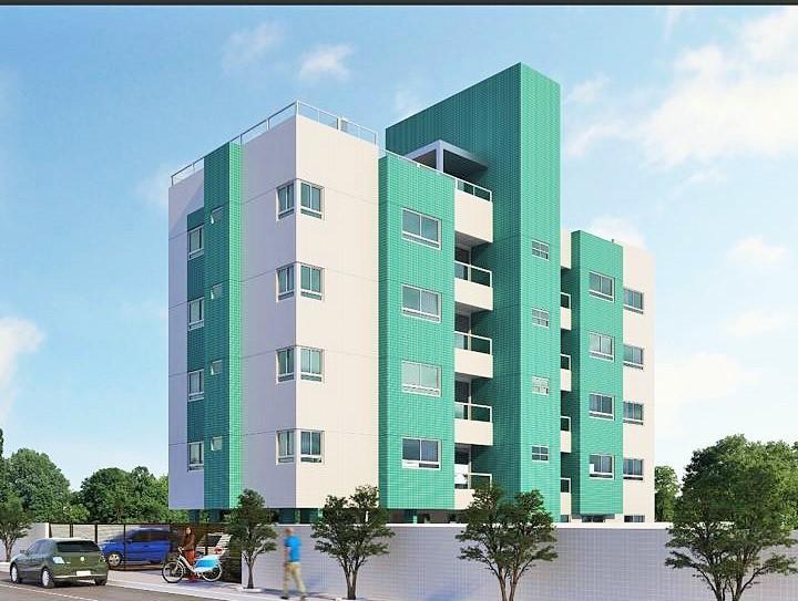 Apartamento com 3 dormitórios à venda, 100 m² por R$ 370.000,00 - Intermares - Cabedelo/PB