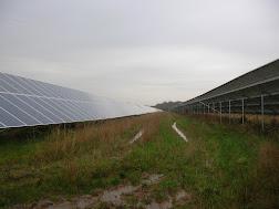 Photo 1 / 2 - New Forest Solar Field Establishment, Nov 2014
