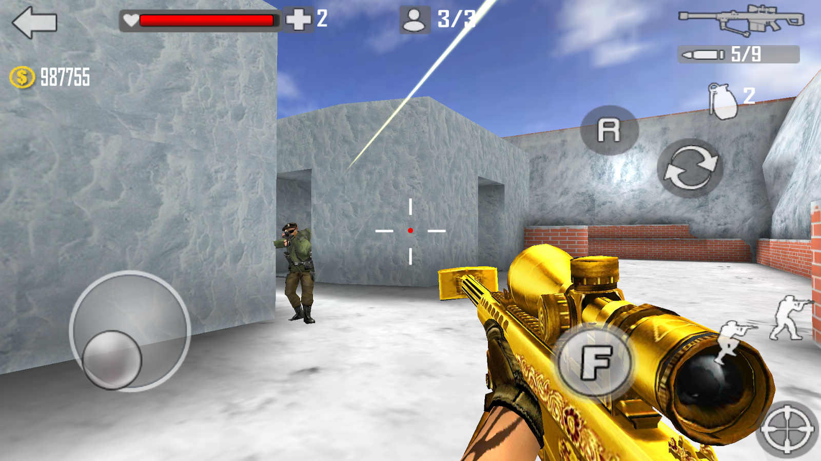 Shoot Strike War Fire Screenshot 1