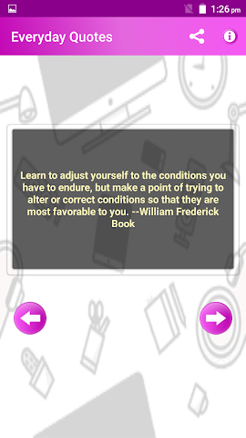 android Everyday Quotes & Status Screenshot 3