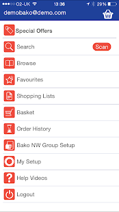 BAKO NW Group App - screenshot