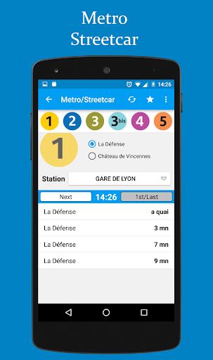 Horaires Me! (Paris) - screenshot