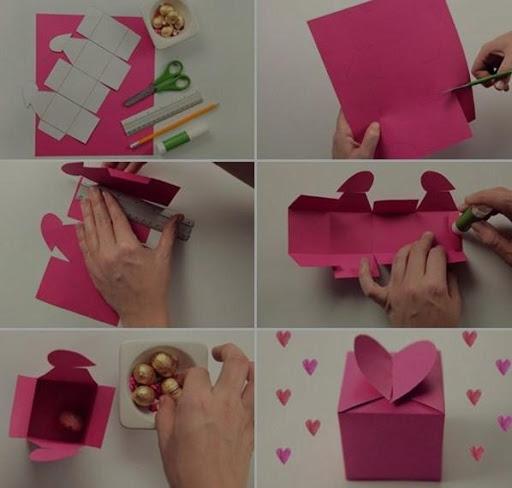 Сделать подарок своими руками видио