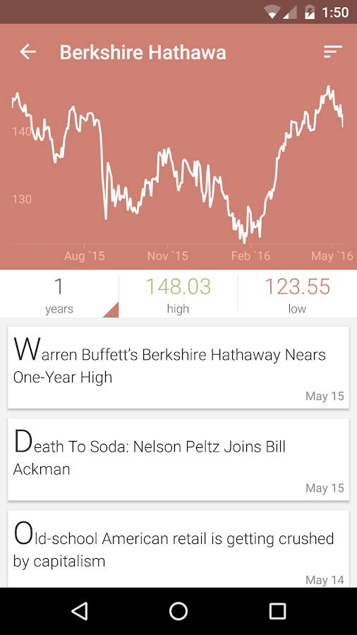 JStock Android - Stock Market Screenshot 3