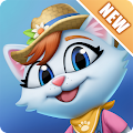 Kitty City: Help Cute Cats Build & Harvest Crops APK Descargar