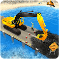 Game River Road Bridge Construction APK for Kindle