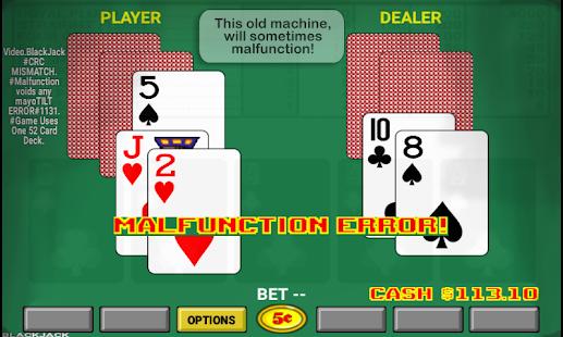 Blackjack font for android