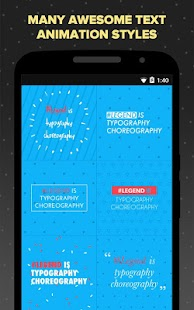 App Legend - Animate Text in Video APK for Windows Phone