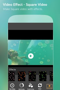 Video Effects - Square Video - screenshot