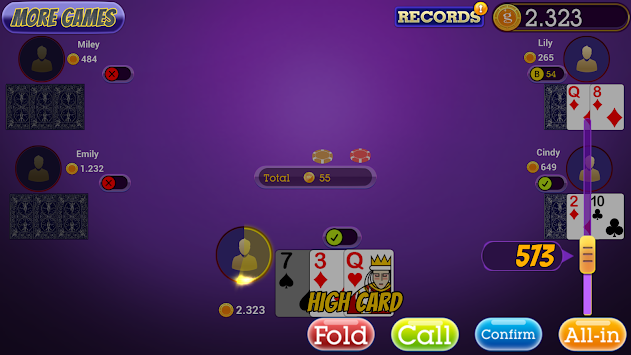 Poker Bonus Texas HoldEm - Casino Offlinne APK screenshot thumbnail 2