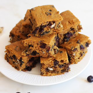 Pumpkin Blueberry and Cranberry Pecan Protein Bars