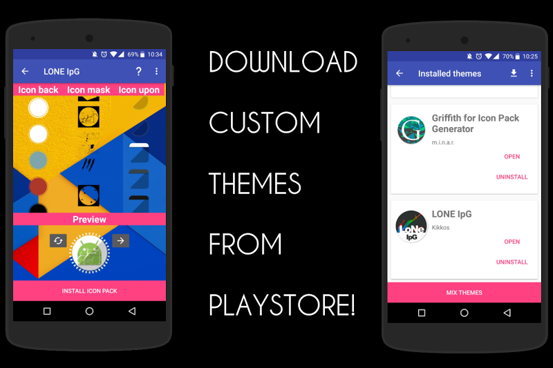 Icon Pack Generator - Create your own icon pack! Screenshot 1