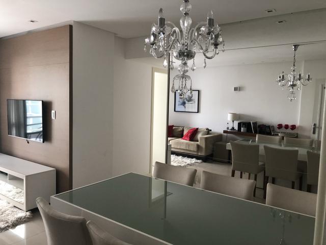 espetacular apartamento na pituba com 3/4 + 1 suite