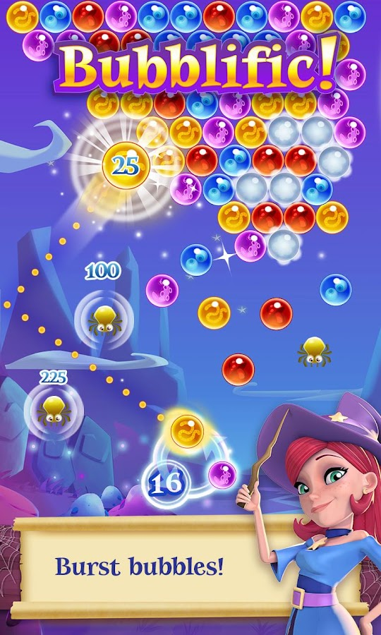Bubble Witch 2 Saga Screenshot 0