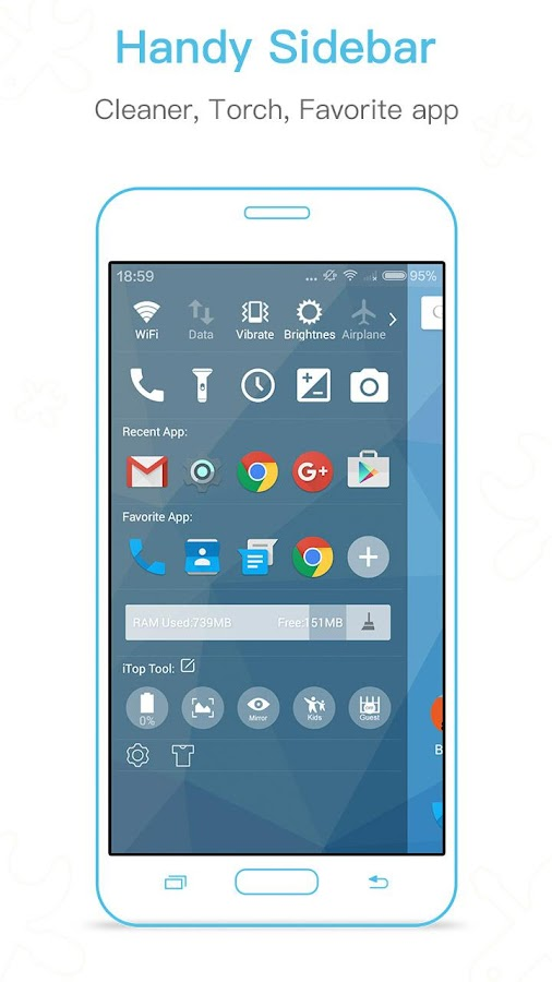 iTop Marshmallow Launcher -6.0 Screenshot 3