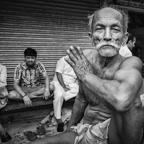 by Saumalya Ghosh - City,  Street & Park  Street Scenes