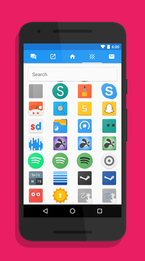 Splash - Icon Pack Screenshot 3