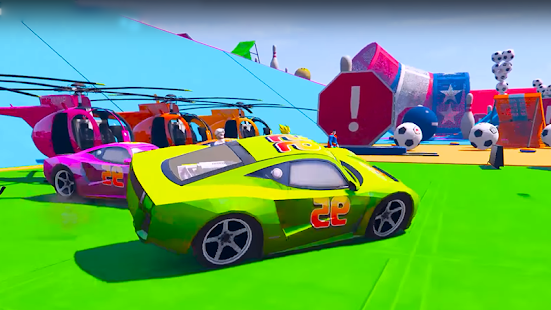 Superheroes Fast Highway Racing Challenges