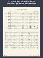 Screenshot of MuseScore Songbook