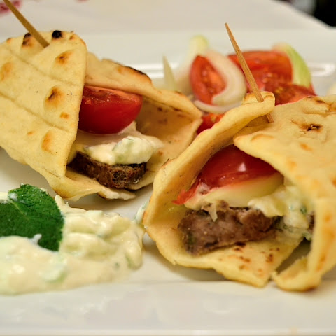 Easy Homemade Lamb Gyros (Doner Kebab)