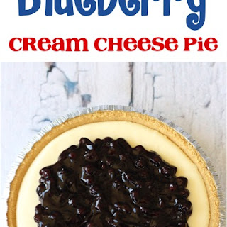 Philadelphia Cream Cheese Blueberry Pie Recipes
