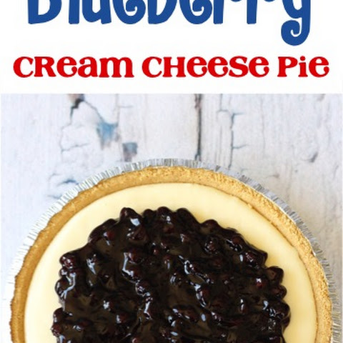 Blueberry Cream Cheese Pie Recipe!