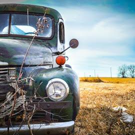 Parked History  by Alex Rosenkranz - Transportation Automobiles ( vintage, cars )