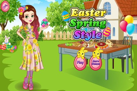 Easter Spring Style - screenshot